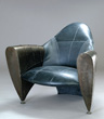 "Chris Martin - ""1400R24"" Club Chair - Steel, Rubber, 31"" x 37"" x 31"""